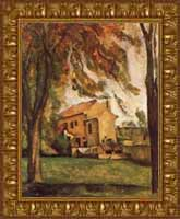 Cezanne Chestnut Trees & Farm