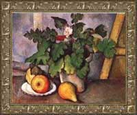 Cezanne Plate with Fruit & Earthenware