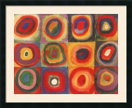 Wassily Kandinsky - Farbstudie (Color Study)