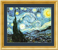 The Starry Night (Sternennacht), by Vincent van Gogh